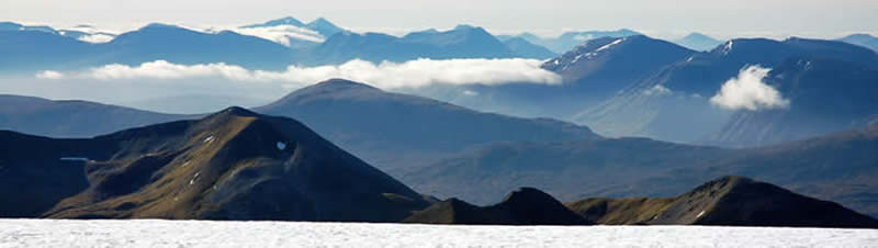 Ben Nevis summit panorama - West Highlands