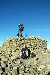 Summit cairn - Scafell Pike