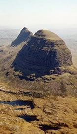 Suilven from the north west