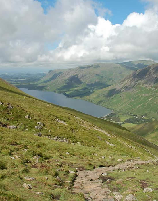 View of Wastwater from Scafell