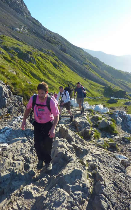 Snowdon ascent - 1st peak on National 24 Hour 3 Peak Challenge